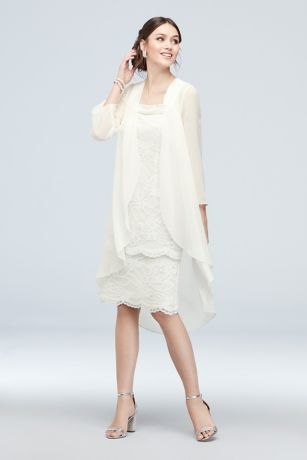 Short Sheath Jacket Dress - Le Bos