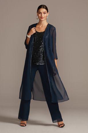 Long Jumpsuit Jacket Dress - Le Bos