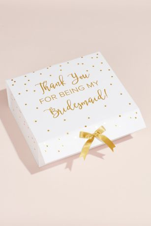 Thank You for Being My Bridesmaid Pop-Up Box