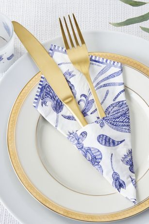 Blue Willow Paper Napkins