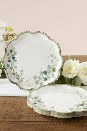 Botanical Garden 9-Inch Paper Dinner Plates