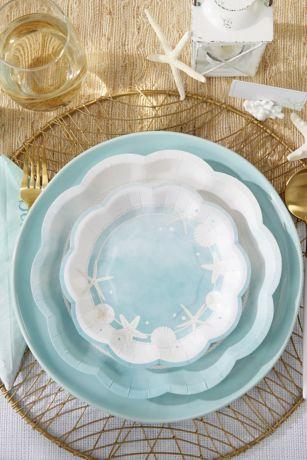 Beach Party 7-Inch Premium Paper Plates