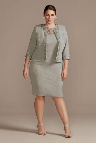 Short Sheath Jacket Dress - Le Bos