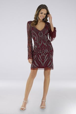 Short Long Sleeves Dress - Lara