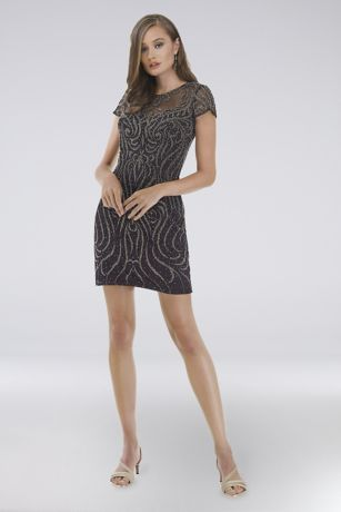 Short Short Sleeves Dress - Lara