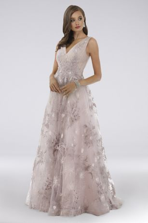 Long Ballgown Dress - Lara