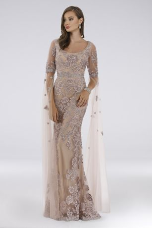 Long Sheath Dress - Lara