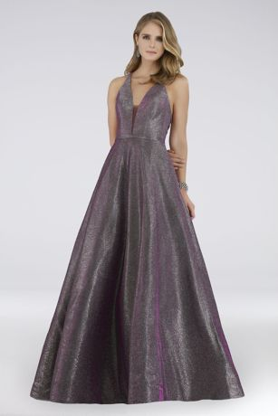Long Ballgown Tank Dress - Lara