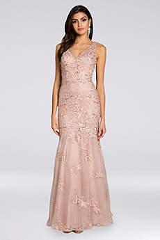 Long Mermaid/ Trumpet Tank Formal Dresses Dress - Lara