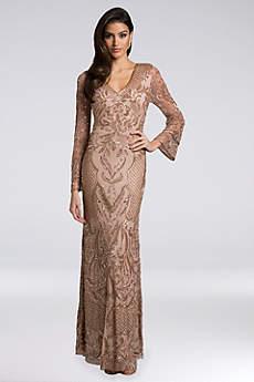 Long Mermaid/ Trumpet Long Sleeves Formal Dresses Dress - Lara