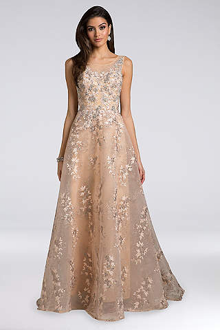 Mother Of The Bride Dresses In Silver Gold And Champagne Davids