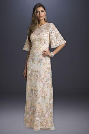 Long A-Line Wedding Dress - Lara