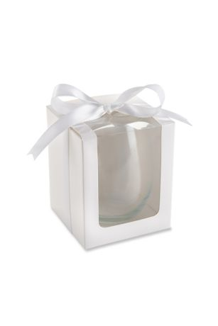 Stemless Wine Glass 15 oz Gift Box Set of 12