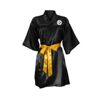 Pittsburgh Steelers Crystal Embellished Satin Robe