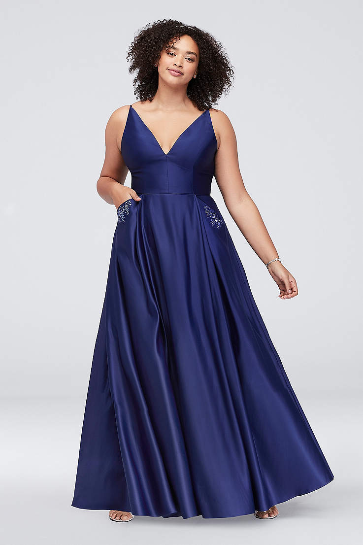 Long Ball Gown Prom Dresses