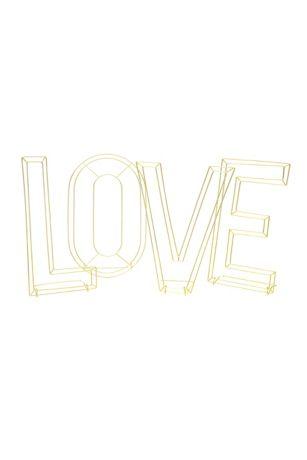 Wire Love Decor Letters