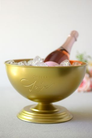 Cheers to Love Champagne Ice Bucket