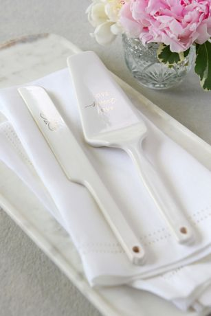 Love Sweet Love Cake Serving Set