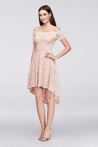 Bachelorette Party Dresses & White Party Dresses | David\'s Bridal