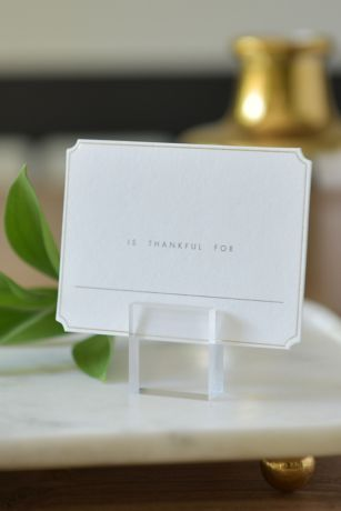 Clear Place Card Holder