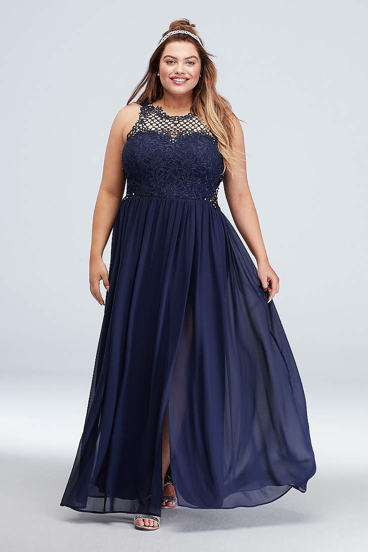 0c3d045fff2ef2 Plus Size Prom Dresses and Homecoming Gowns
