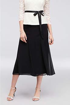 Tea Length A-Line Not Applicable Formal Dresses Dress - Alex Evenings