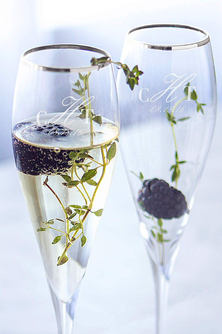 5ae69d4d773 Champagne Glasses and Toasting Flutes | David's Bridal