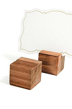 Wooden Place Card Holder Set 36771