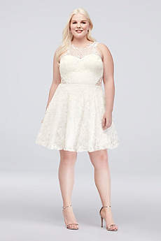 Short A-Line Tank Cocktail and Party Dress - City Triangles