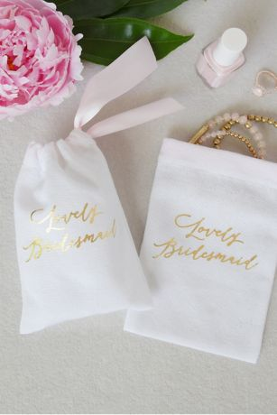 Lovely Bridesmaid Favor Bag Set