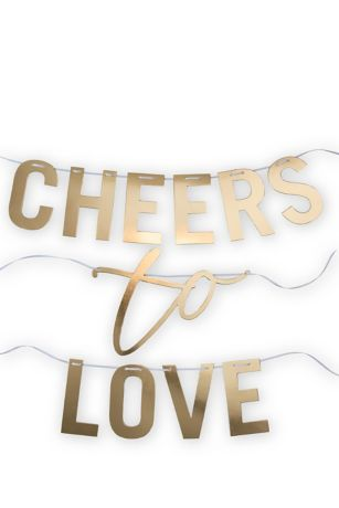 Cheers To Love Banner