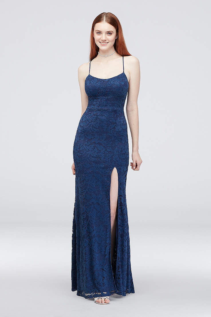 bb56068b41 Sexy Prom Dresses - Tight, Fitted Bodycon Gowns | David's Bridal