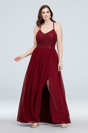 Soft & Flowy;Structured City Triangles Long Bridesmaid Dress