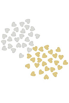 Set of 25 Wood Hearts for Floral Drop Guest Book 3930HRT