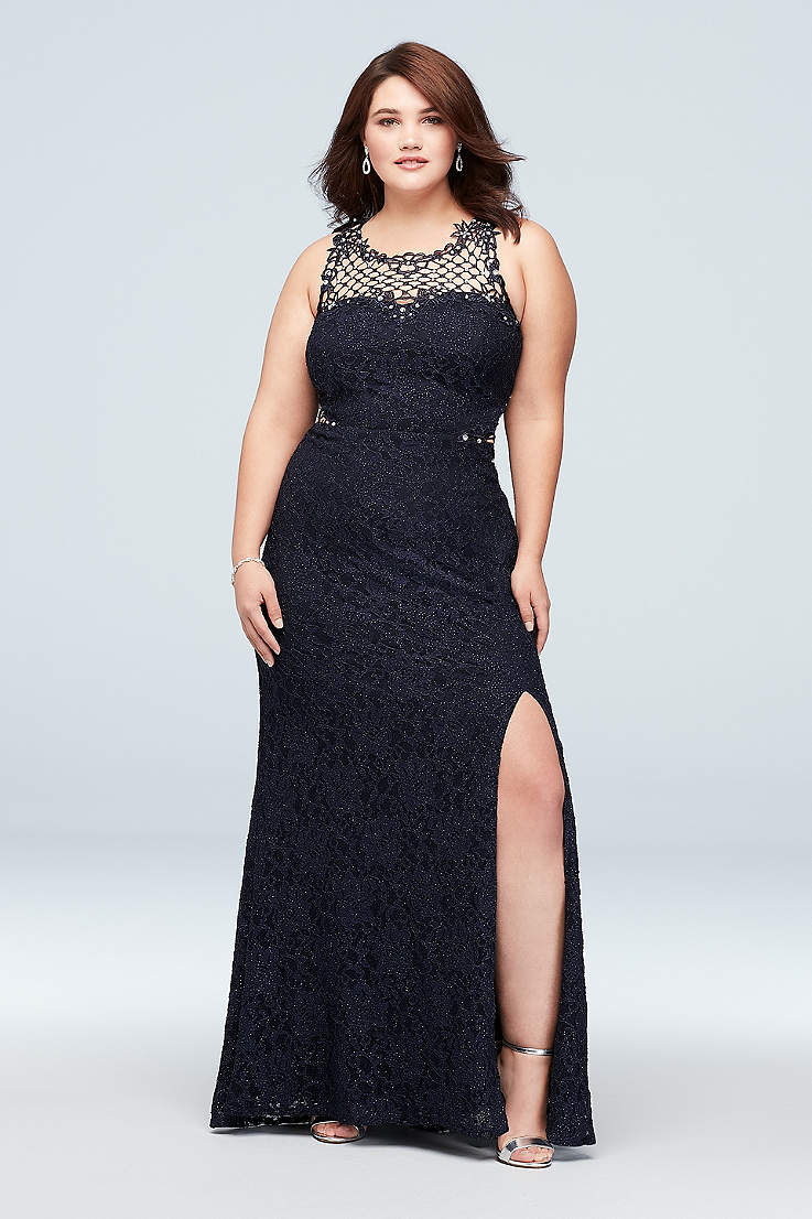40ec0294 Plus Size Prom Dresses and Homecoming Gowns | David's Bridal