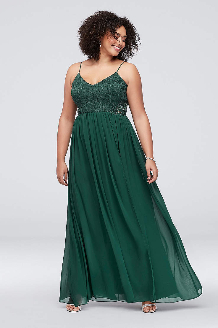 Plus Size Prom Dresses and Homecoming Gowns | David\'s Bridal