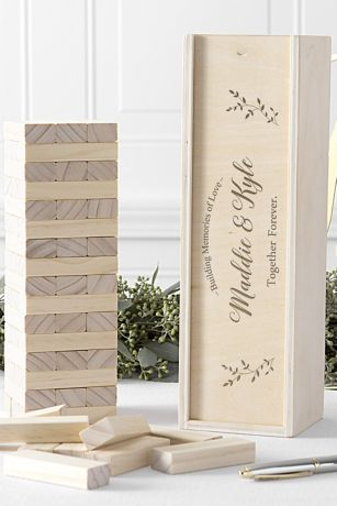 Personalized Building Block Wedding Guestbook