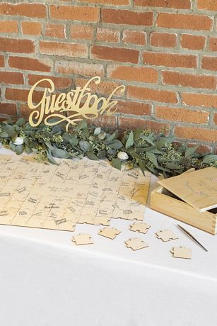 Personalized Wooden Guest Book Puzzle