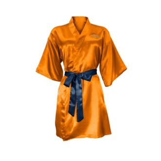 Denver Broncos Crystal Embellished Satin Robe