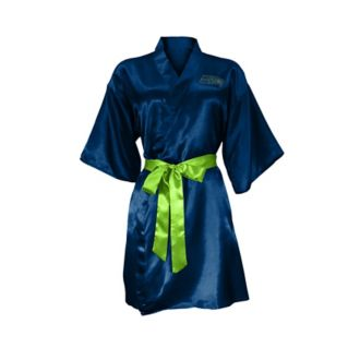 Seattle Seahawks Crystal Embellished Satin Robe