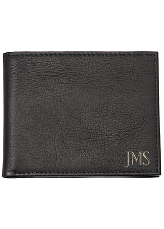Personalized Bi-Fold Wallet with Tool