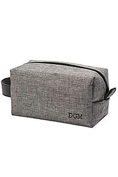Personalized Grey Dopp Kit 4043GY
