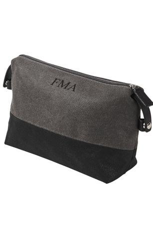 Personalized Two Tone Dopp Kit