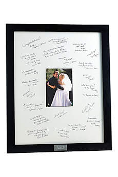 Personalized Guest Book Frame for Reception
