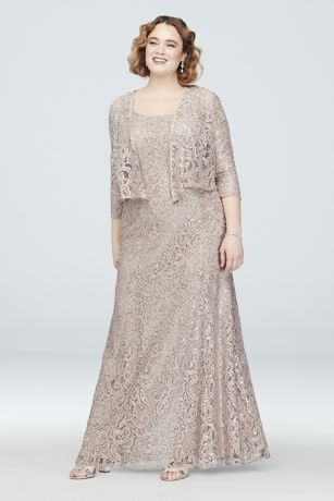 Rose Gold Evening Gown