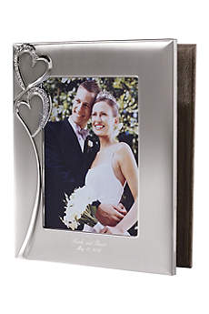 Personalized Twin Hearts Photo Album