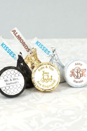 Metallic Foil Hersheys Kisses Favors