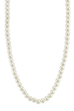 Timeless Pearl Strand Necklace