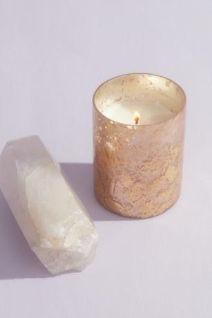 Illume Coconut Milk Mango Emory Glass Candle