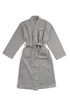 Personalized Men's Cotton Kimono Robe